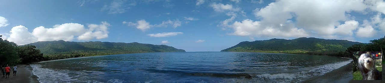 La baie d'Ureparapara.